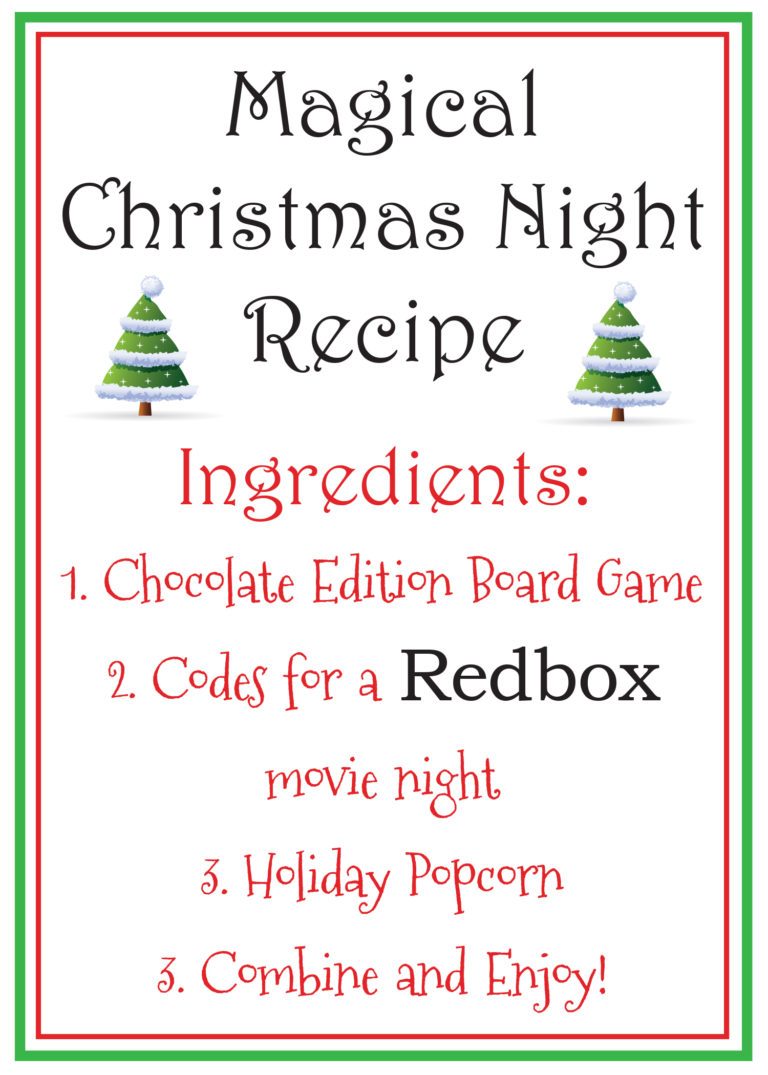 picture relating to Redbox Printable known as RedBox Video clip Evening Printable and Reward Strategy