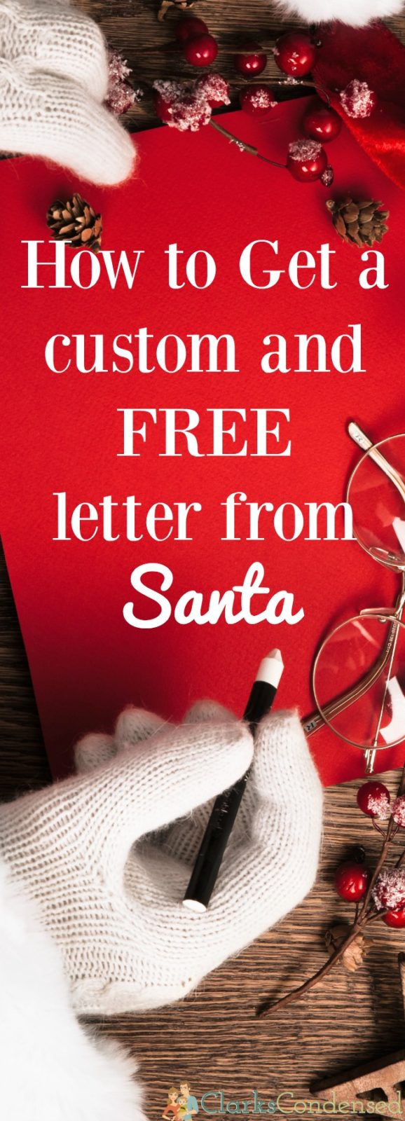 This is so cute! My son would love this - you can get a custom and free letter from Santa from this site. So fun.