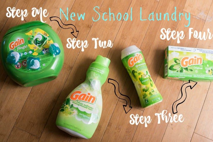 New School Laundry Routine