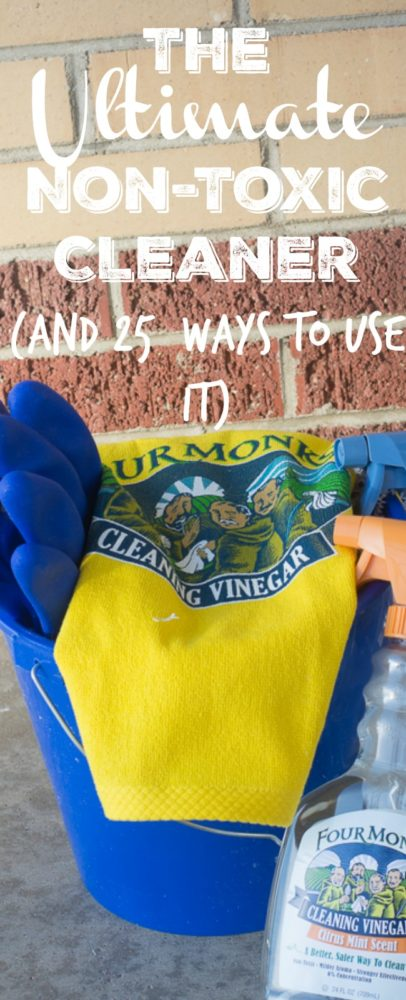 The Ultimate Non-Toxic Cleaning Agent (and 25+ Ways to Use It)