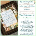 DIY Christ Frame + 2 Christ Quote Printables