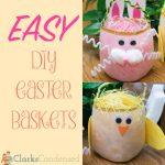 Easy DIY Easter Baskets