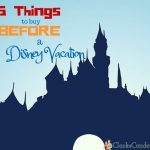 12 Things You Must Buy Before a Disney Vacation