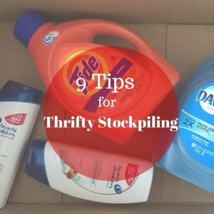10 Thrifty Tips for Stockpiling