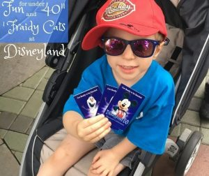 Fun for Under 40″ and 'Fraidy Cats at Disneyland