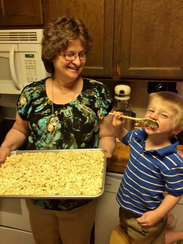 Jack Rice Krispies with Grammy