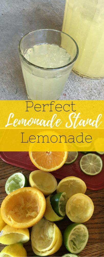 This homemade lemonade is perfect for lemonade stands this summer! via @clarkscondensed