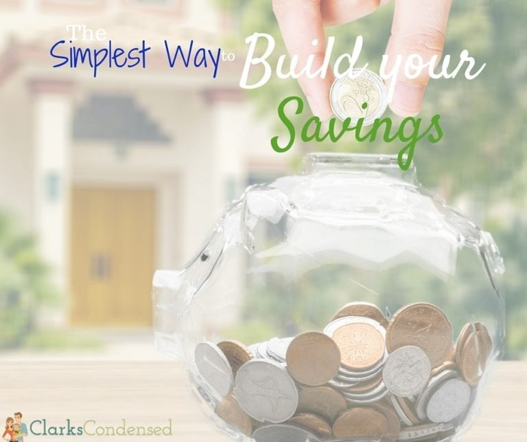 The Simplest Way to Build Your Savings