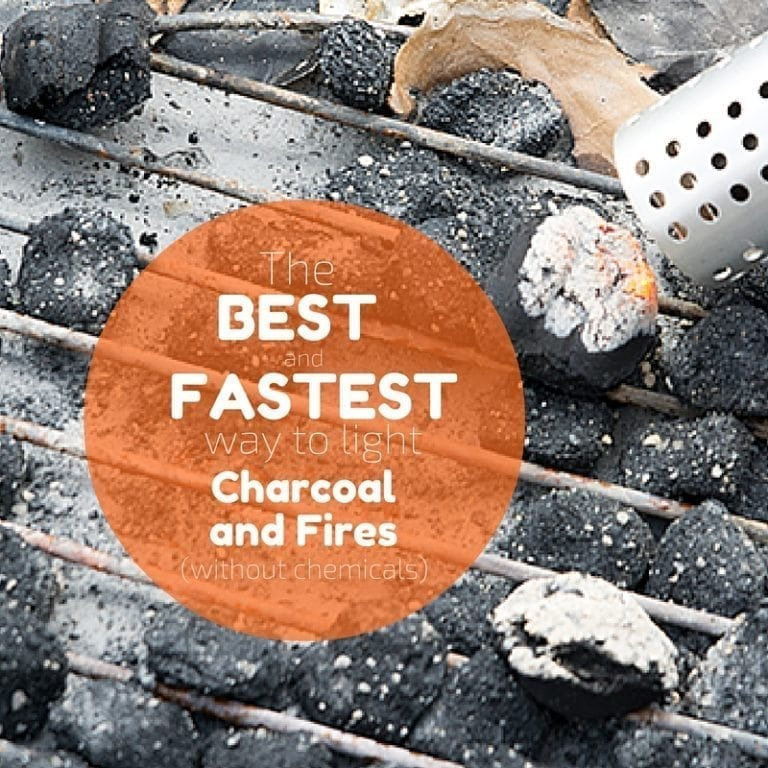 The Best Way to Start Charcoal or a Fire (Without Lighter Fluid)