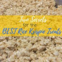 The Best Rice Krispies Recipe
