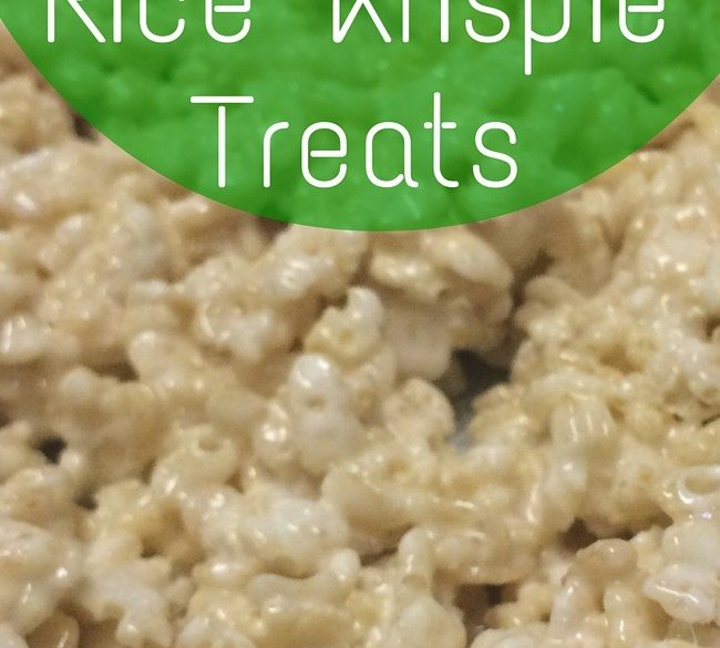 Two Secrets for The Best Rice Krispies Ever