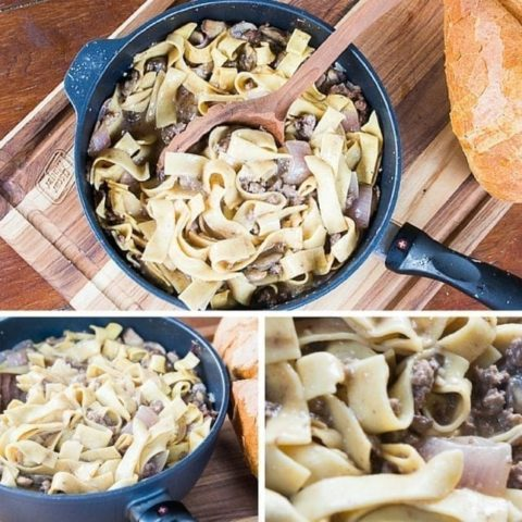 Better-for-You One Pot Beef Stroganoff Recipe