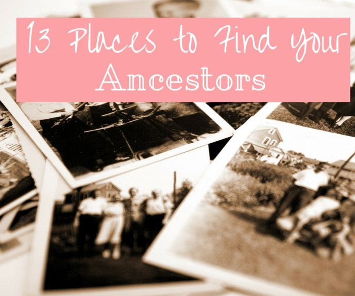 13 Places to Find Your Ancestors
