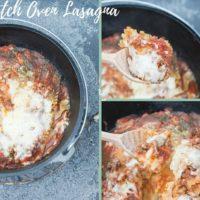 Amazing Dutch Oven Lasagna Recipe