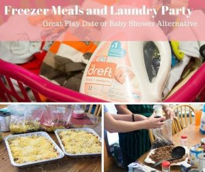 Laundry and Freezer Meal Party Ideas – Baby Shower Alternative