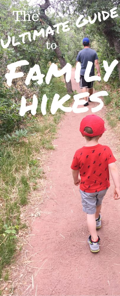 Hiking is an excellent outdoor activity for families - here is the ultimate guide to hiking with children so you can have the best (and safest) hike ever!)