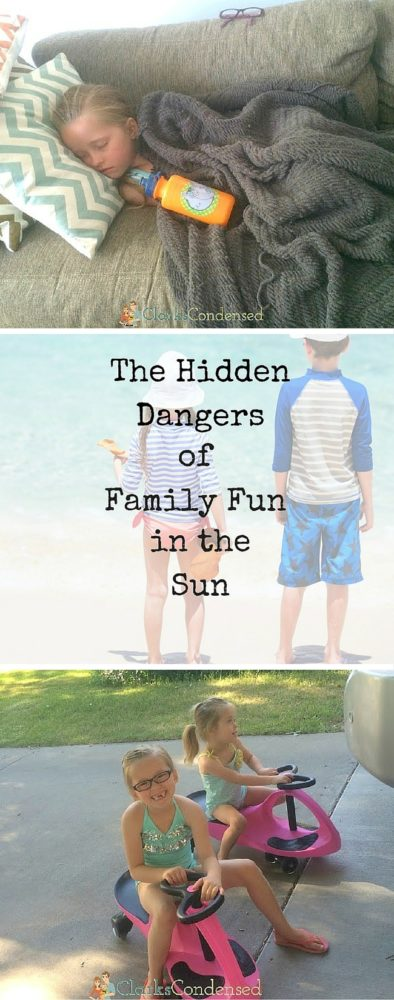 The hidden dangers of family fun in the sun - this is what I wish I had known. via @clarkscondensed