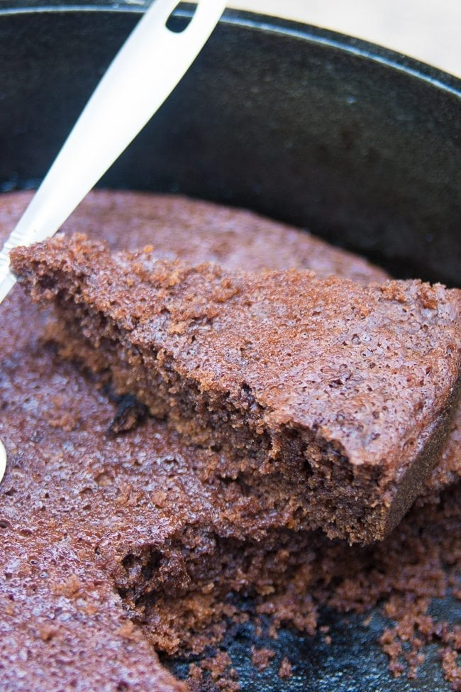 Dutch Oven Chocolate Cake 16 Of 18