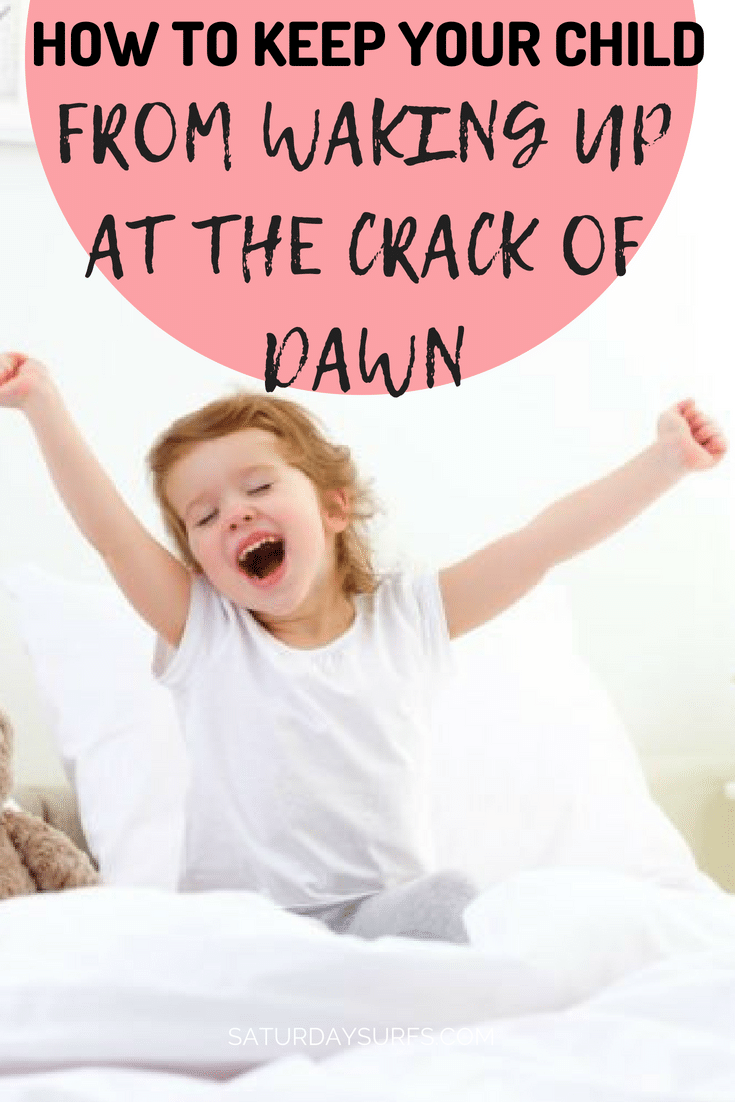 Is your child waking up too early? Here's the simple thing we did to help our son sleep two hours later in the morning. #parenting #parent #child #sleep via @clarkscondensed