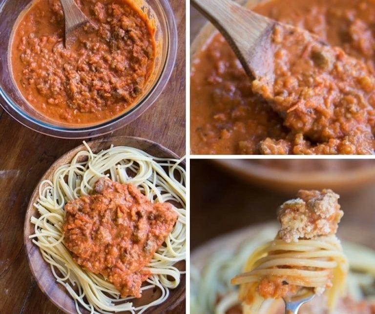 Fabulous Easy Bolognese Sauce Recipe and FreshTECH HarvestPro™ Sauce Maker Giveaway