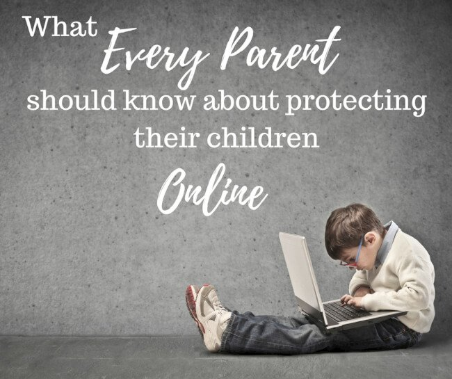 protecting children online Most kids have cellphones or tablets and are constantly texting or using social media, and experts say parents should use apps to monitor their children's online activity.