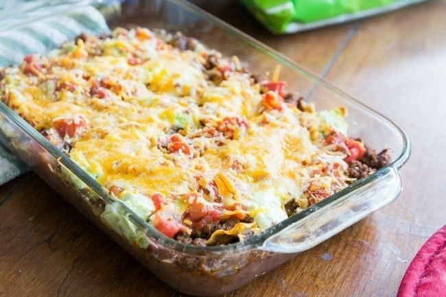 Hot Seven Layer Dip Recipe with SunChips