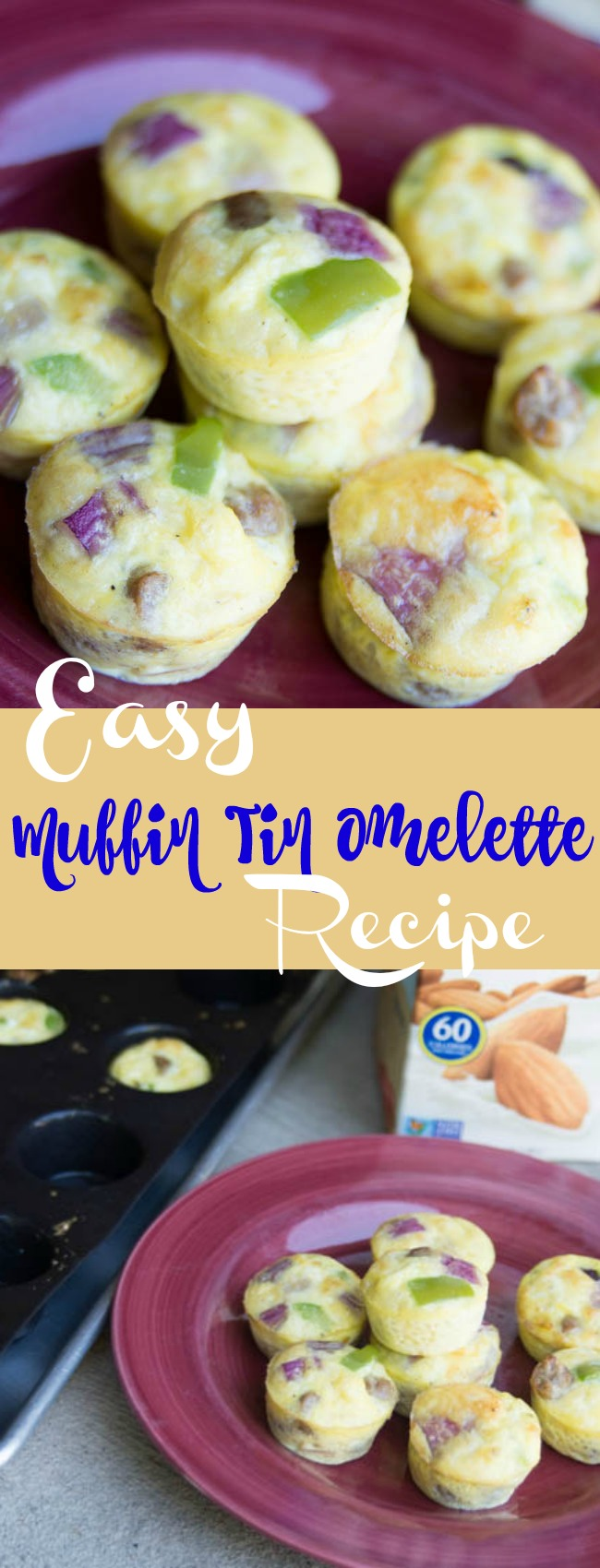 These muffin tin eggs are absolutely PERFECT for breakfast. You can freeze them for later, or bake up a big bunch for parties. They are delicious! via @clarkscondensed
