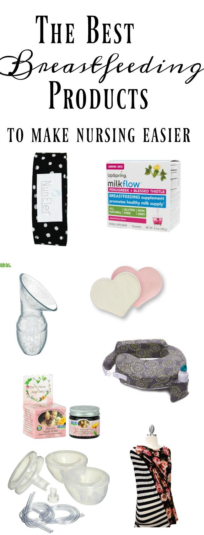 The best breastfeeding supplies to help make nursing easier.