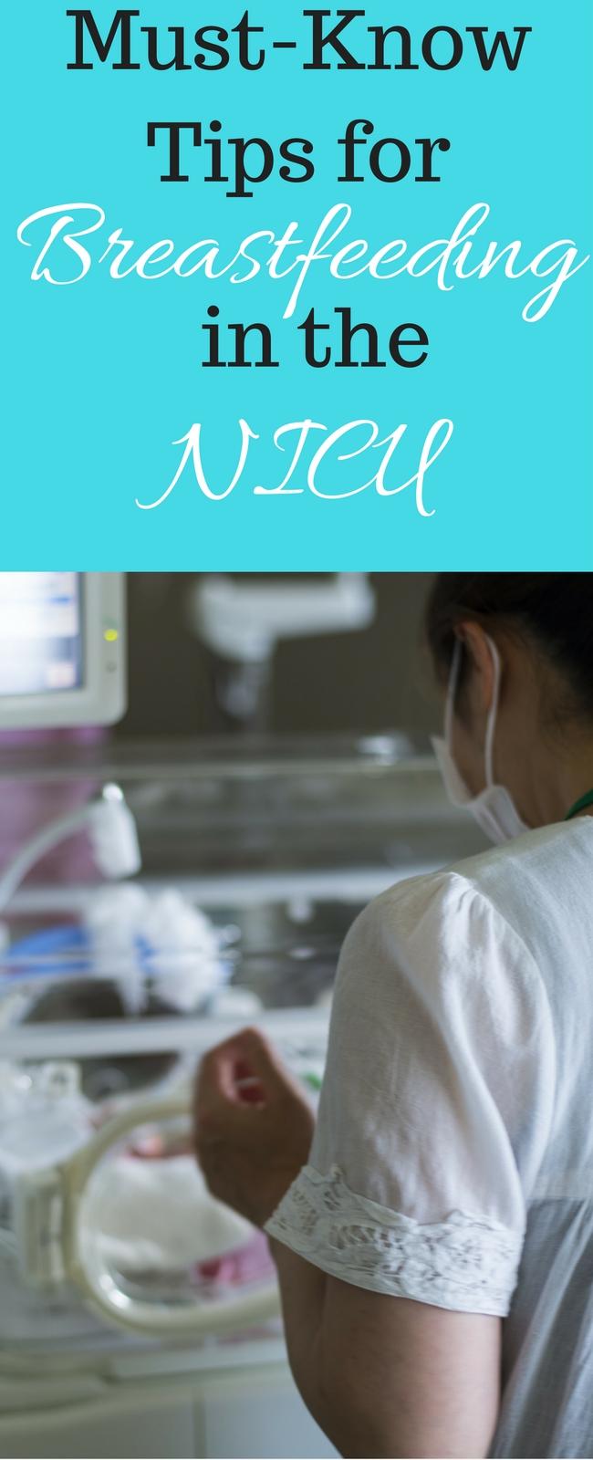 Breastfeeding in the NICU: What I Wish I'd Known - The Breastfeeding Mama