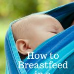 How to Breastfeed in an Ergo Carrier