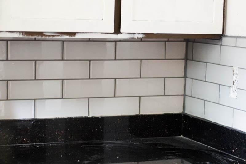Glass tile backsplash installation guide tile design ideas for Installing glass tile with mesh back