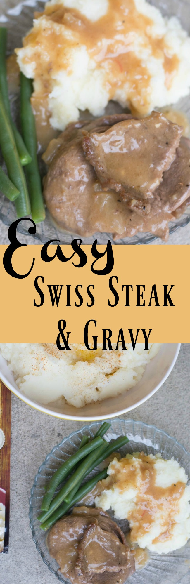 The best easy round steak and gravy recipe easy swiss steak and gravy forumfinder Choice Image