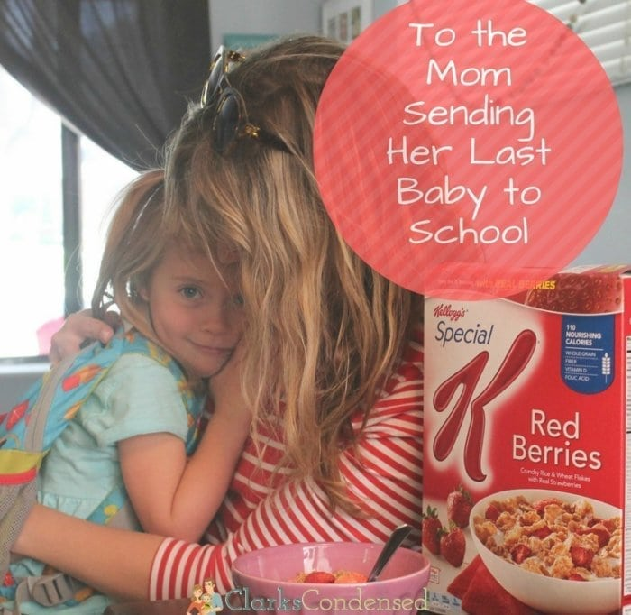 To the Mom Sending Her Last Baby to School: Tips to Nourish Your Soul Everyday