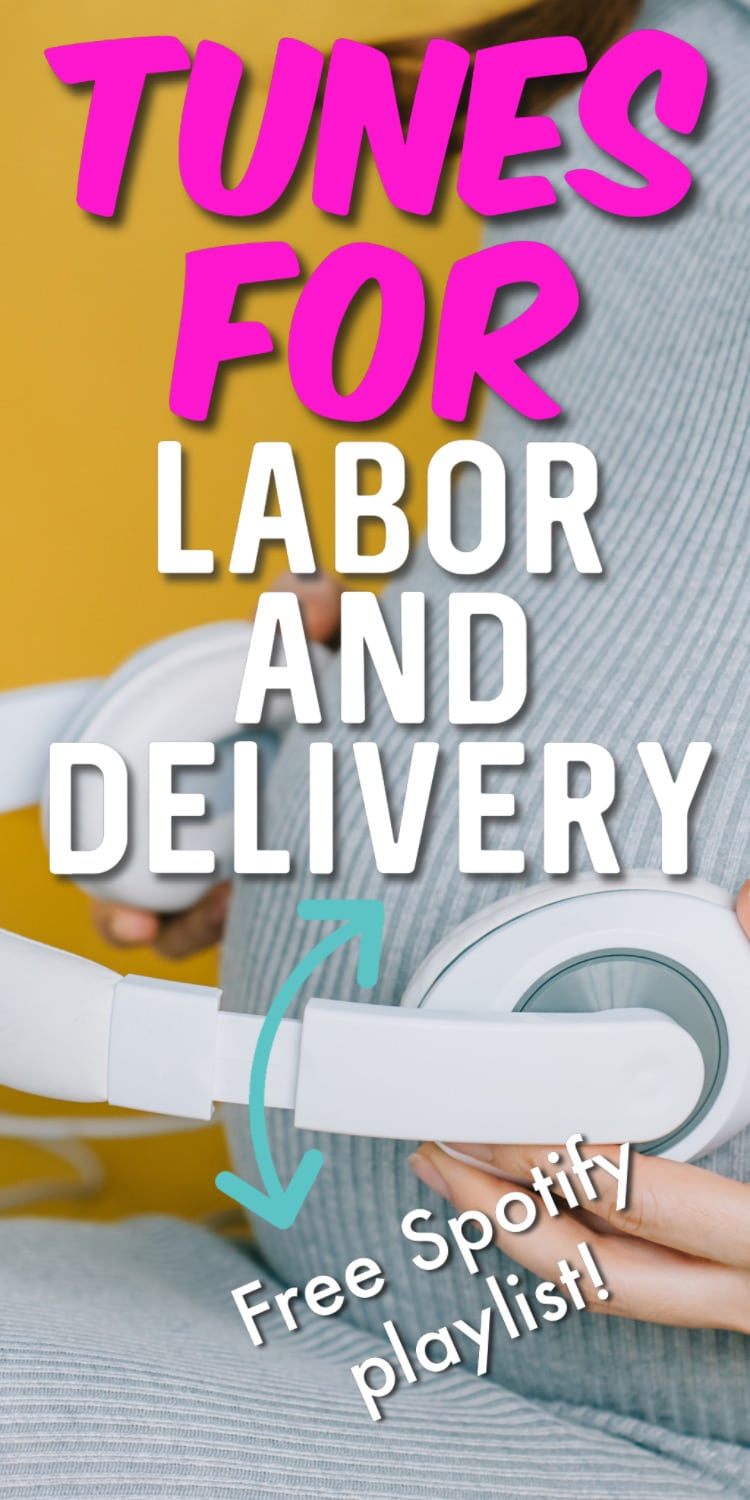 Here is the ultimate labor and delivery playlist - lots of great songs to help get you through the toughest of contractions! via @clarkscondensed