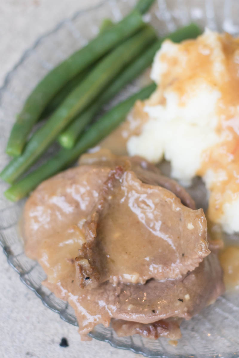 Easy Round Steak and Gravy Recipe