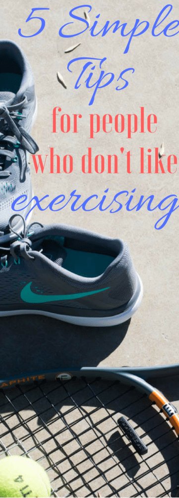 7 Tips for People Who Hate Exercising