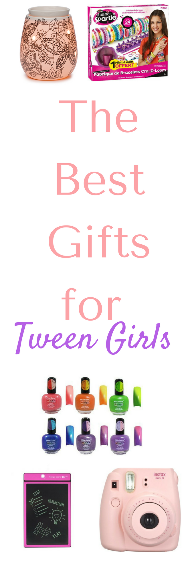 Awesome gift ideas for tween girls - these gift ideas for girls who aren't quite teenagers will be a huge hit this Christmas!