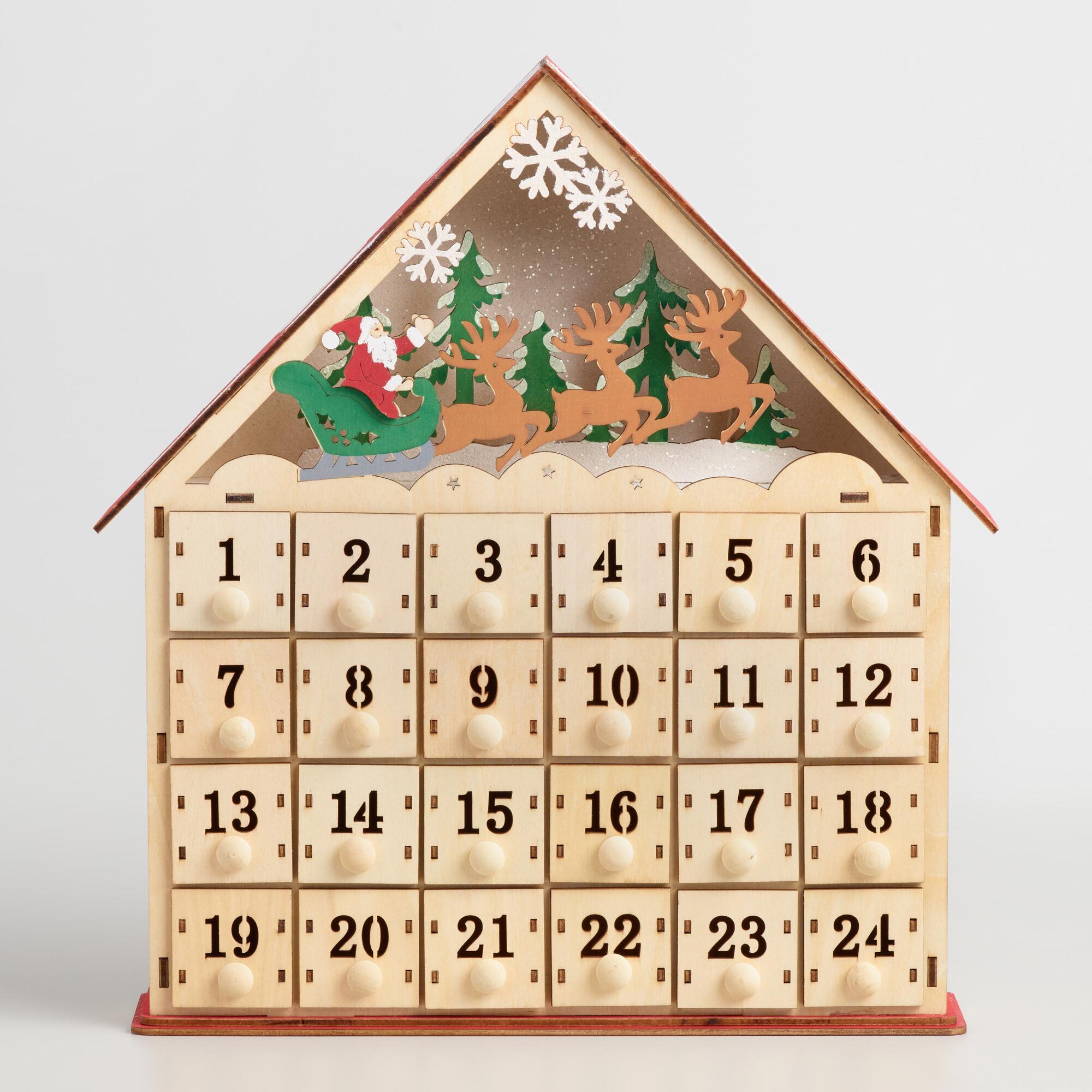 Advent Calendar Romantic Ideas : Beautiful advent calendar ideas for christmas