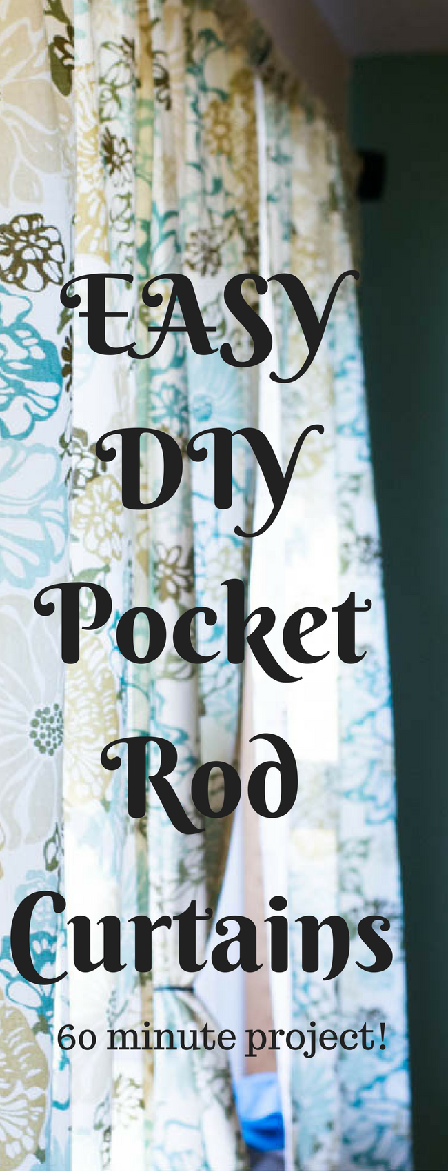 It doesn't have to be hard to make your own curtains - here is an easy DIY curtains tutorial (this is specifically for rod curtains). It can be an affordable option for updating the look of any room! via @clarkscondensed