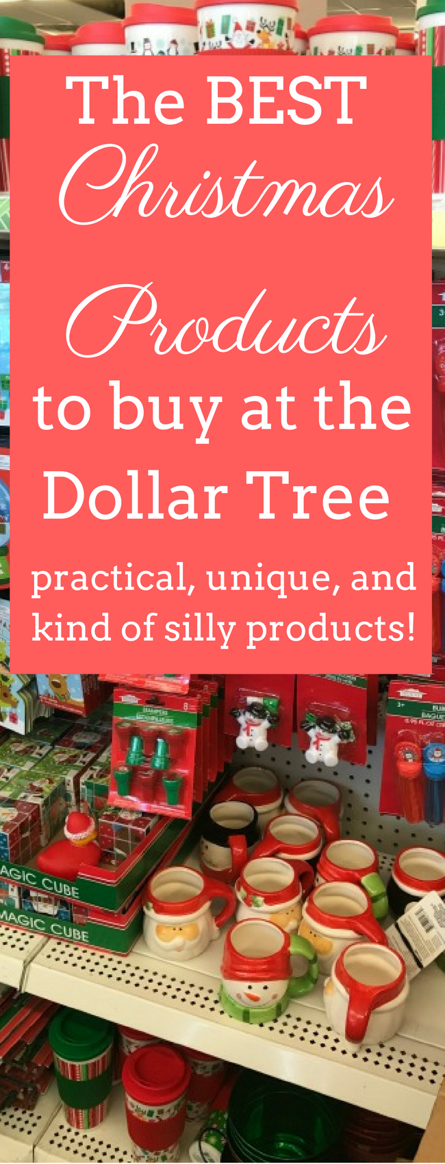 The Best Christmas Products to Buy at The Dollar Tree