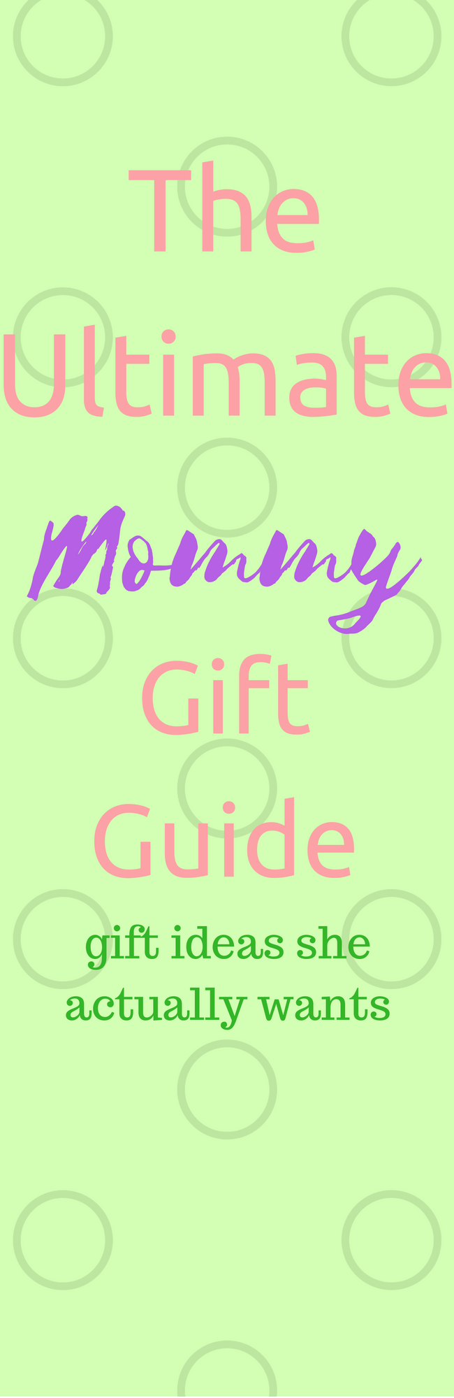 The Ultimate Mommy Gift Guide - gift ideas for moms that she will LOVE!