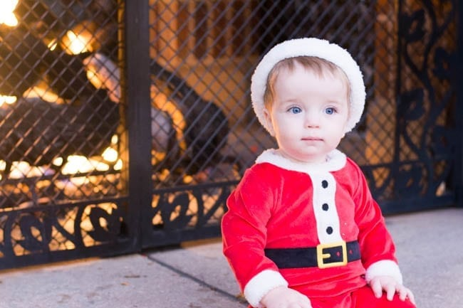 Baby's First Christmas Bucket List