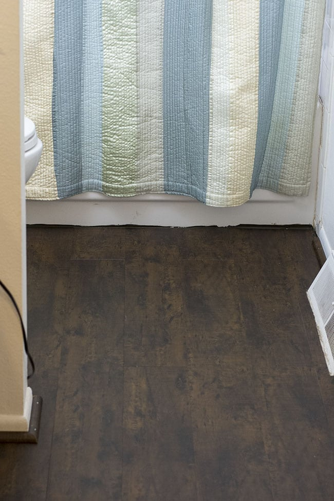 Nucore Flooring Review 2 Year Update On Vinyl Floors In Bathroom