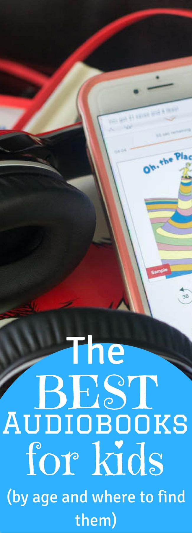 audiobook ideas / best audiobooks / best audiobooks for kids / kids entertainment / books for kids / audiobooks for teens via @clarkscondensed
