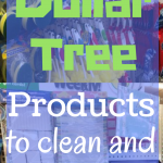 The Best Dollar Tree Cleaning and Organization Supplies