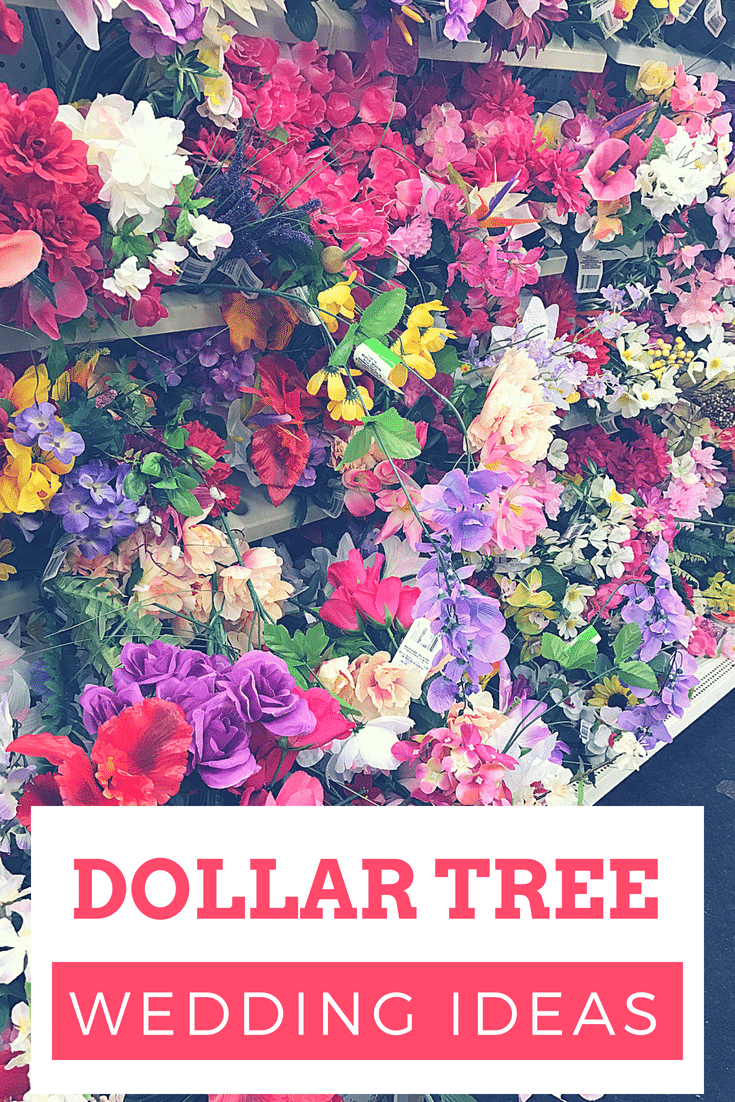Dollar Tree Wedding Ideas