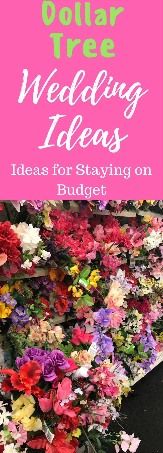 Dollar Store Wedding Ideas: What to Buy to Stay Under Budget!