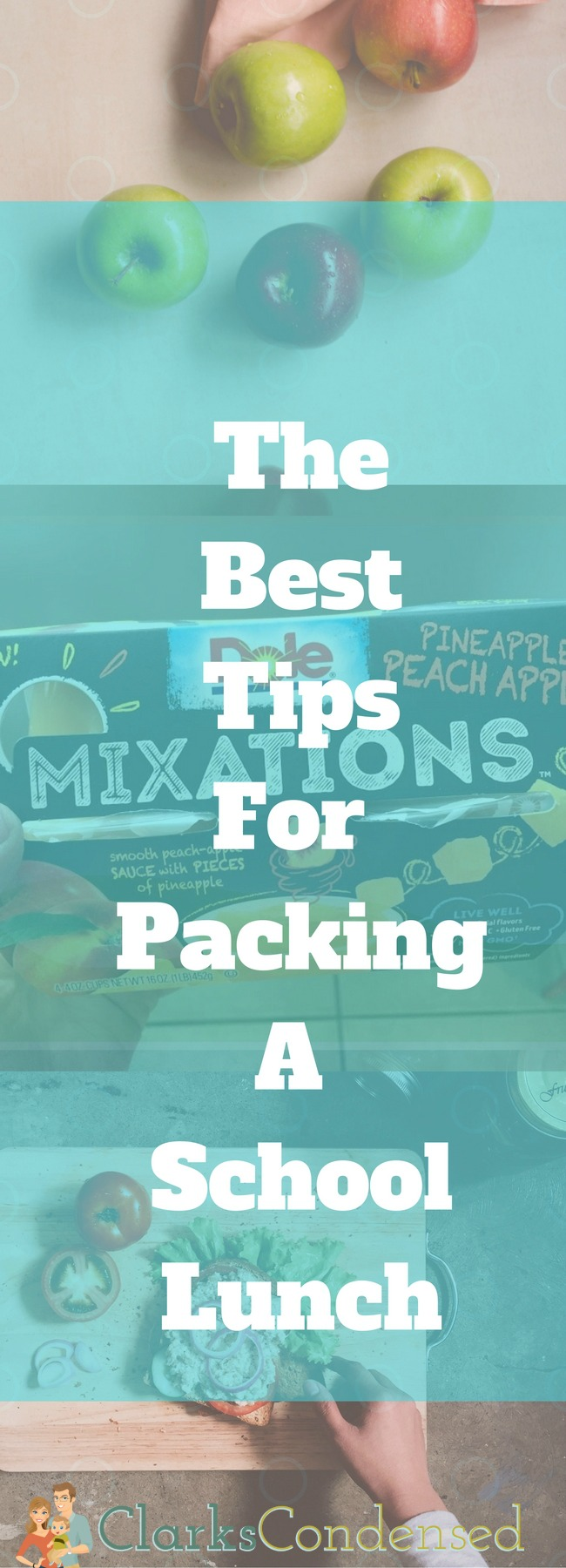 The Best Tips for Packing a School Lunch via @clarkscondensed