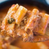 Easy One Pot Rigatoni - 10 PP Weight Watchers Points
