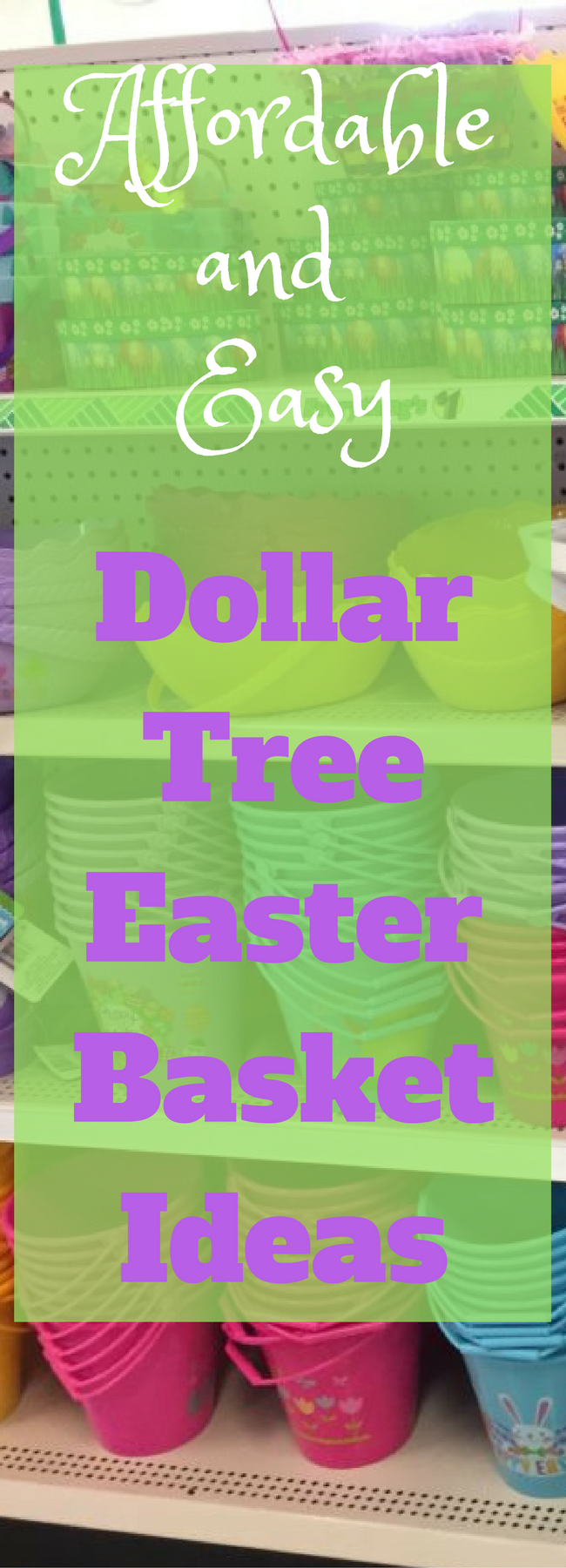 Easter Baskets For Sale: 100+ Dollar Tree Easter Basket Stuffers For All Ages